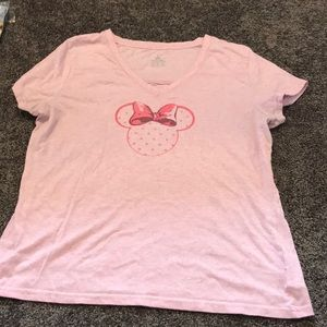 Disney Parks Minnie Mouse Pajama Shirt